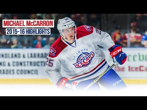 Michael McCarron 2015-2016 AHL Highlights