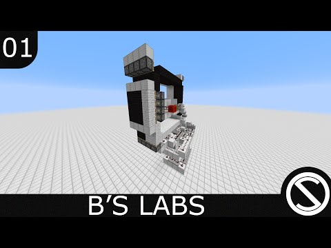 Minecraft - B's Labs | Survival Lunar Clock - EP 01