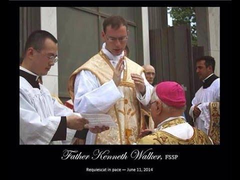 Fr Kenneth Walker Funeral and Burial Kansas