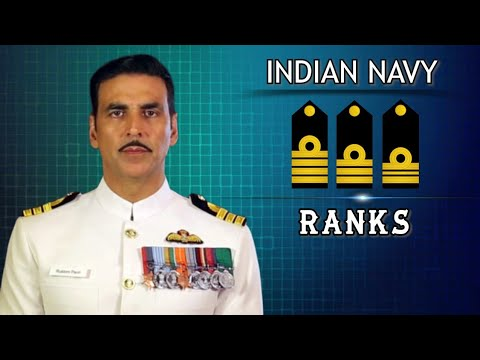 Ranks In Indian Navy | Ranks Of Officers, JCO, NCO | Rank, Hierarchy, Insignia, Badges