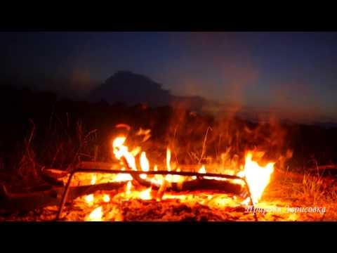 ДРОВА ГОРЯТ - треск огня на природе ~ СЛУШАЕМ Звуки природы и ЗВУК ОГНЯ 🎧 🔥