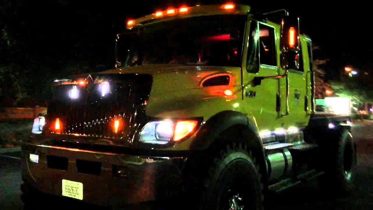 HG2 Emergency Lighting  International CXT Pick Up with