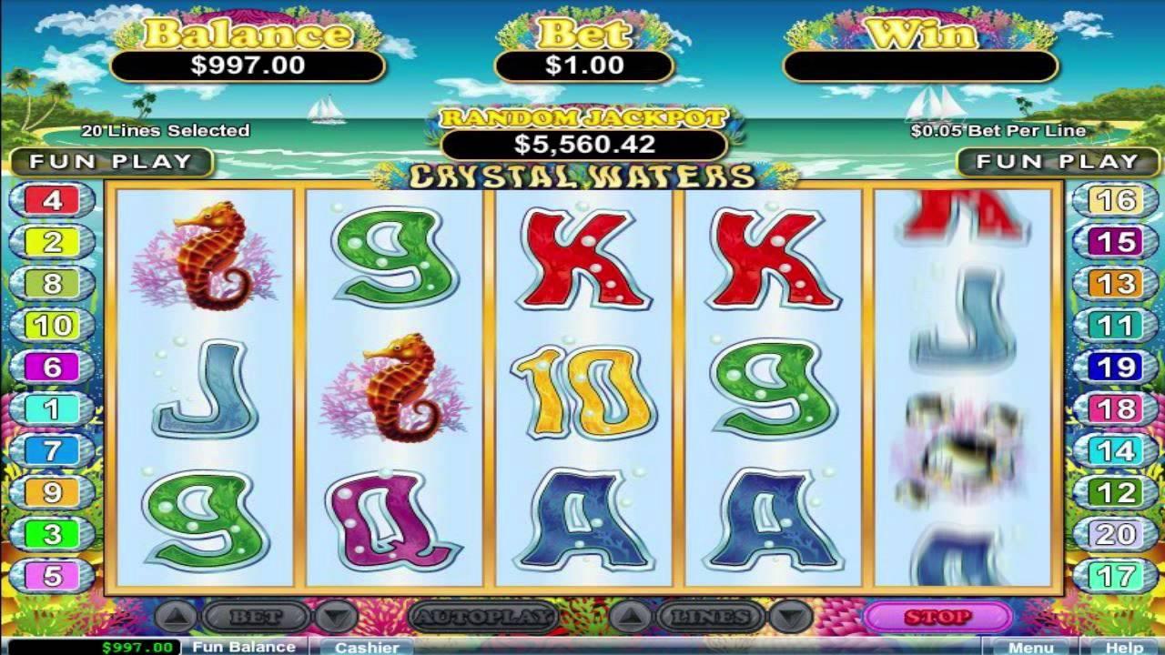 Free crystal water slot machines sugar hill casino pa