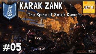 Karak Zank  – The Spine of Sotek Dwarfs – Total War: Warhammer 2 – Part 5