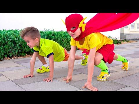 Vlad Became A Superhero Kid And Helps Nikki