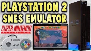 PS2 SNES Station Modded Version! (SNES Emulator!)