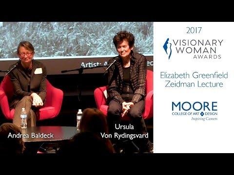 2017 ELIZABETH GREENFIELD ZEIDMAN LECTURE
