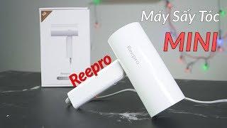 Máy Sấy Tóc Mini Reepro RP HC04 - Giá Chỉ 450k - Công Suất 1300W - Tốc Độ Gió 11m/s