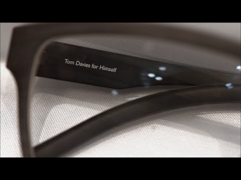 Tom Davies: Why Bespoke Glasses Fit Best