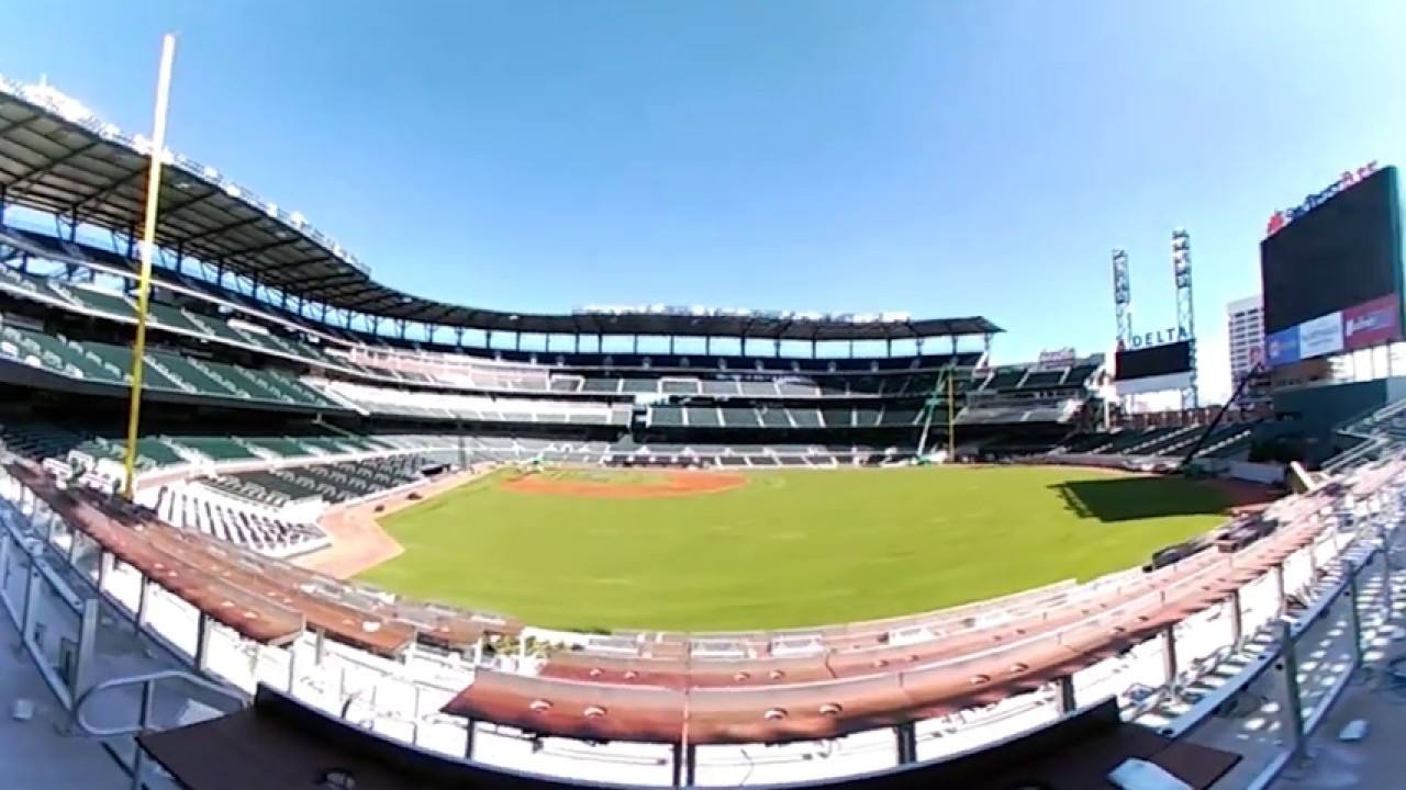 Ajc 360 view from braves 39 chop house at suntrust park for House 360 view