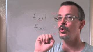 Q&A:FULL vs FOOL: Pronunciation difference