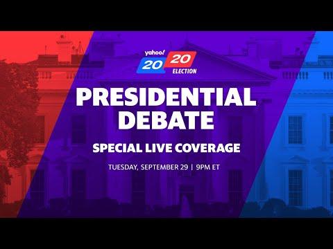 President Trump and Joe Biden participate in the first presidential debate in Ohio