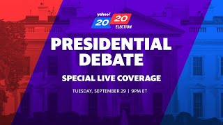 LIVE: President Trump and Joe Biden participate in the first presidential debate in Ohio