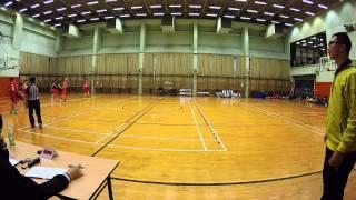 20-1-2015 學界籃球   陳南昌 vs 陳兆民 part 1