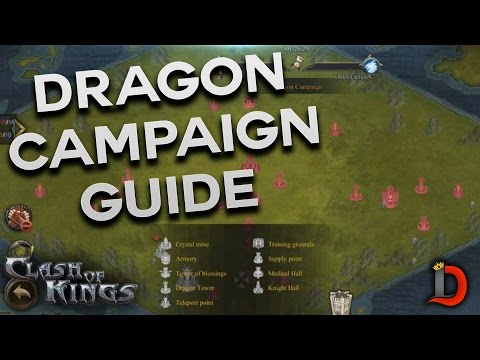 DRAGON CAMPAIGN QUICK GUIDE (CLASH OF KINGS TIPS AND TRICKS)