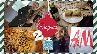 VLOGMAS 2 - Vaření s mamkou, nákupy, cukroví