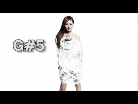 (HD) alan Vocal Range - Studio: D3-C#6 (2005-2011)