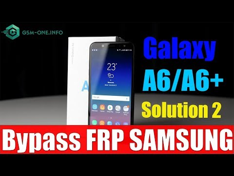 Root SM-A600G Samsung Galaxy A6 2018 Android 8 0 Oreo