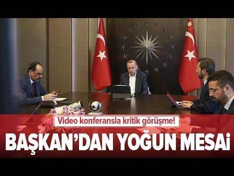 Başkan Erdoğan Mit Başkanı İle Görüştü / A Haber
