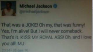 SHOCK! MICHAEL JACKSON IS 100% ALIVE 2016