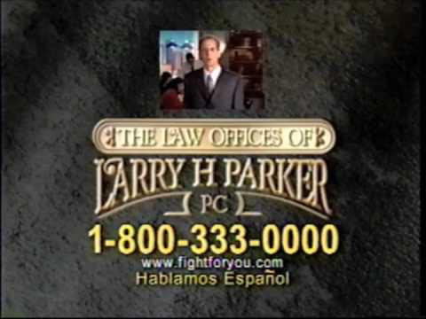 Larry's famous television commercial.