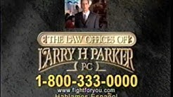 Larry H. Parker TV Commercial - Accident Attorney Through The Years