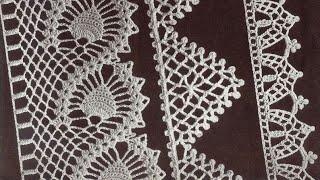 Tığ işi Örgü Kenar Danteli, Uç danteli Modelleri   Crochet