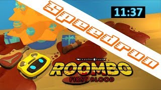 Roombo: First Blood Any% speedrun in 11:37 minutes [WR]