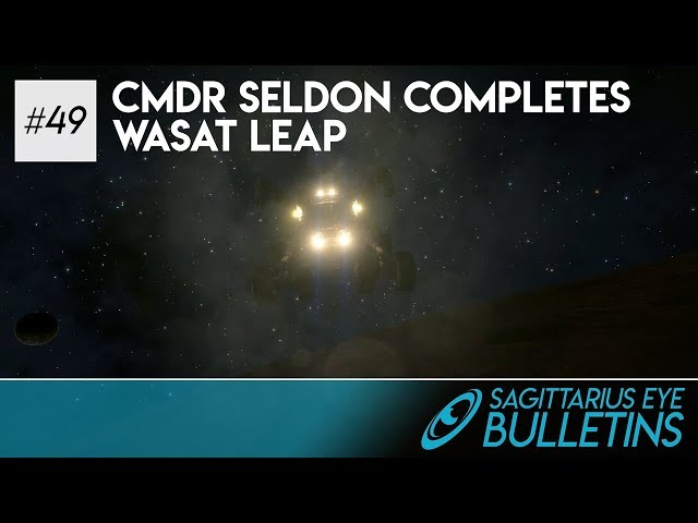 Sagittarius Eye Bulletin - Cmdr Seldon Completes Wasat Leap
