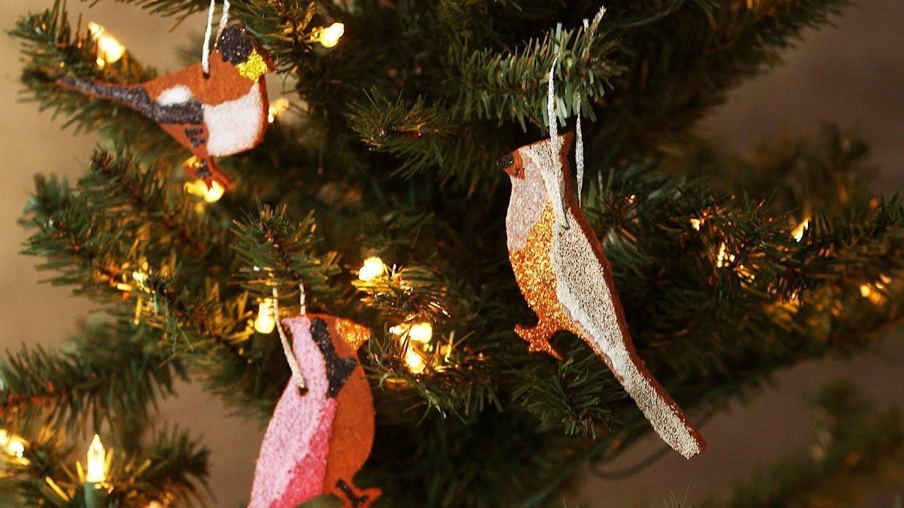 cinnamon bird christmas ornaments martha stewart