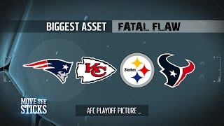 getlinkyoutube.com-AFC Playoff Teams Biggest Asset & Fatal Flaw Entering the Divisional Round | Move the Sticks | NFL