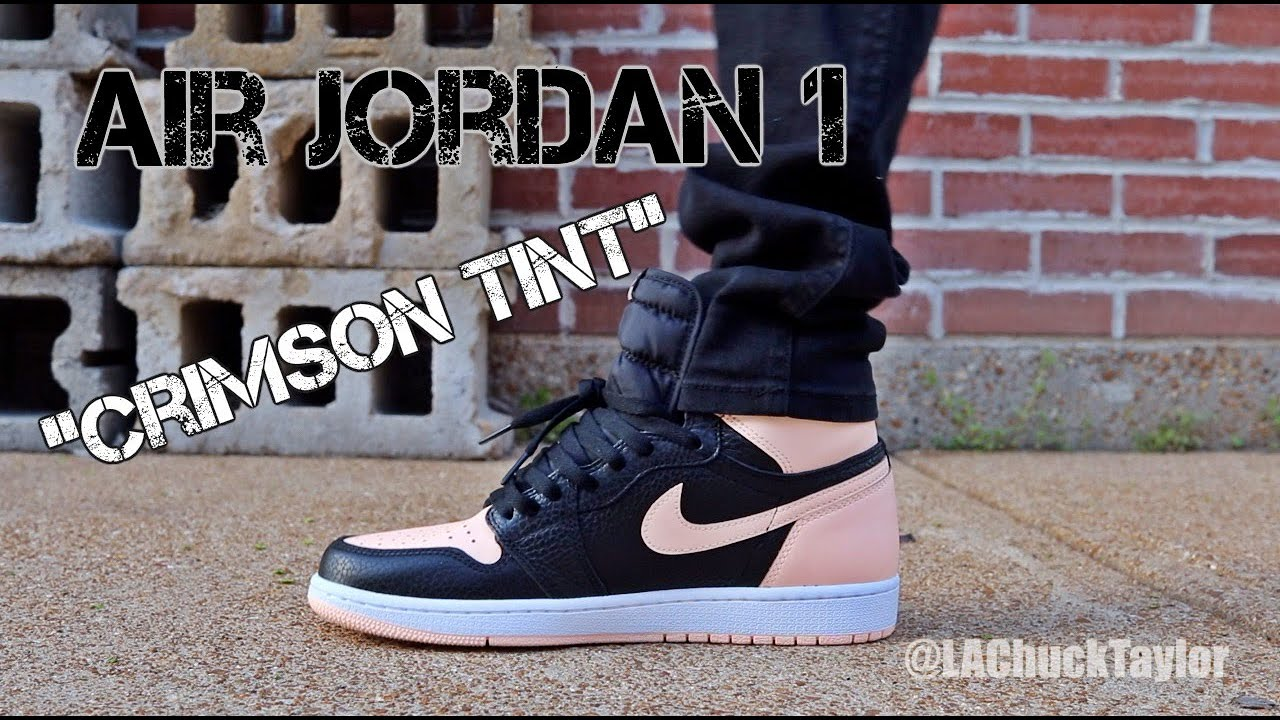 Air Jordan 1 Retro High OG Crimson Tint Review from www