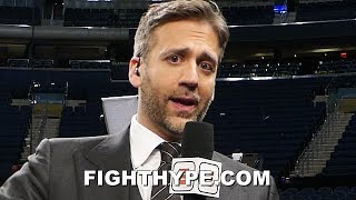 MAX KELLERMAN REACTS TO CRAWFORD KNOCKING OUT MEAN MACHINE; KEEPS IT REAL ON HIM FIGHTING PORTER