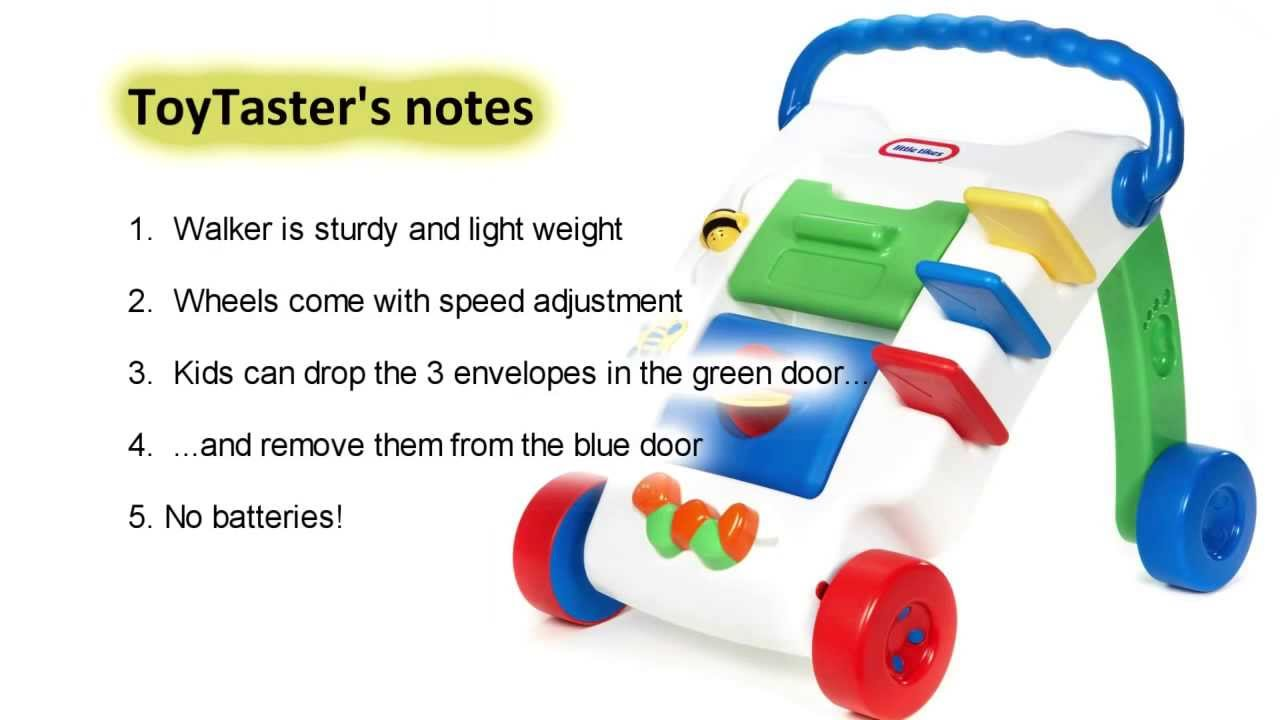 Little Tikes Toys   Wide Tracker Activity Walker Toy Review - YouTube