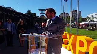 Inauguración de Expobiomasa 2017