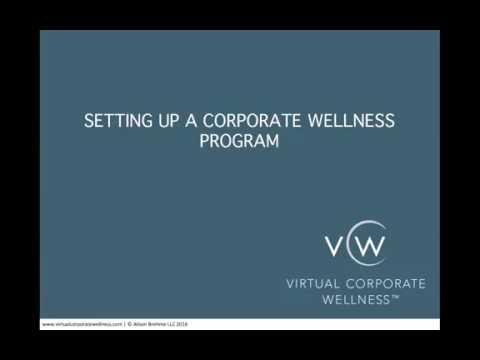 (How To Set Up A Corporate Wellness Program) & *Setting Up Your Program For Success*