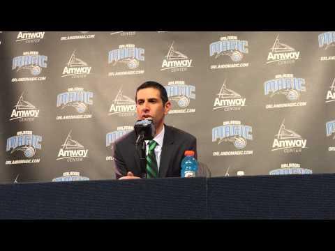James Borrego Postgame Press Conference 2/22/15 vs Sixers