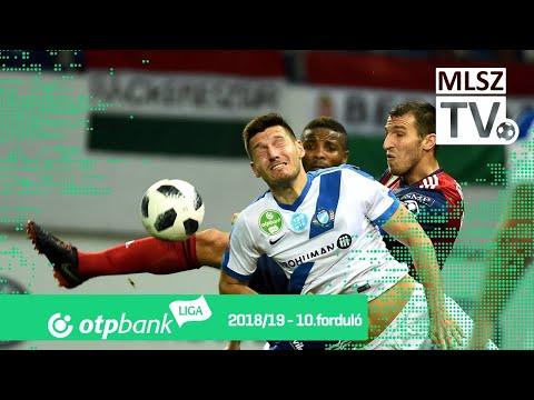 Mol Vidi FC  - MTK Budapest | 0-3 (0-2) | OTP Bank Liga | 10. forduló | 2018/2019