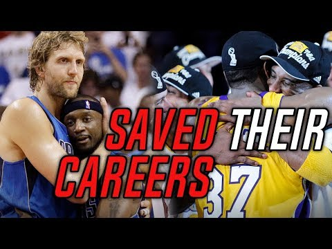 4 Role Players Who SAVED THESE NBA LEGENDS LEGACIES