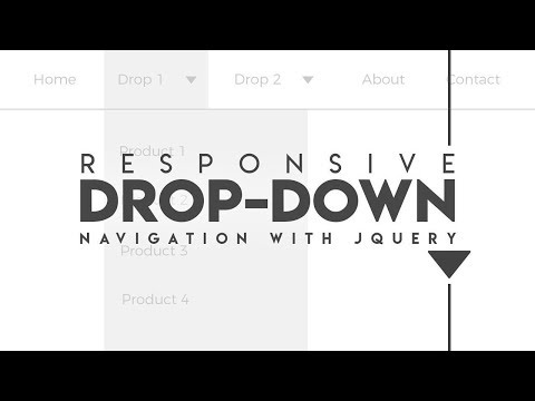 jquery menu bar with submenu (video-40) thumbnail