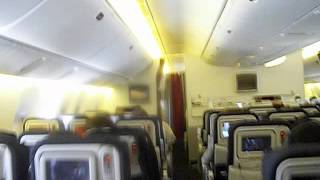 air france cabin of boeing 777 300
