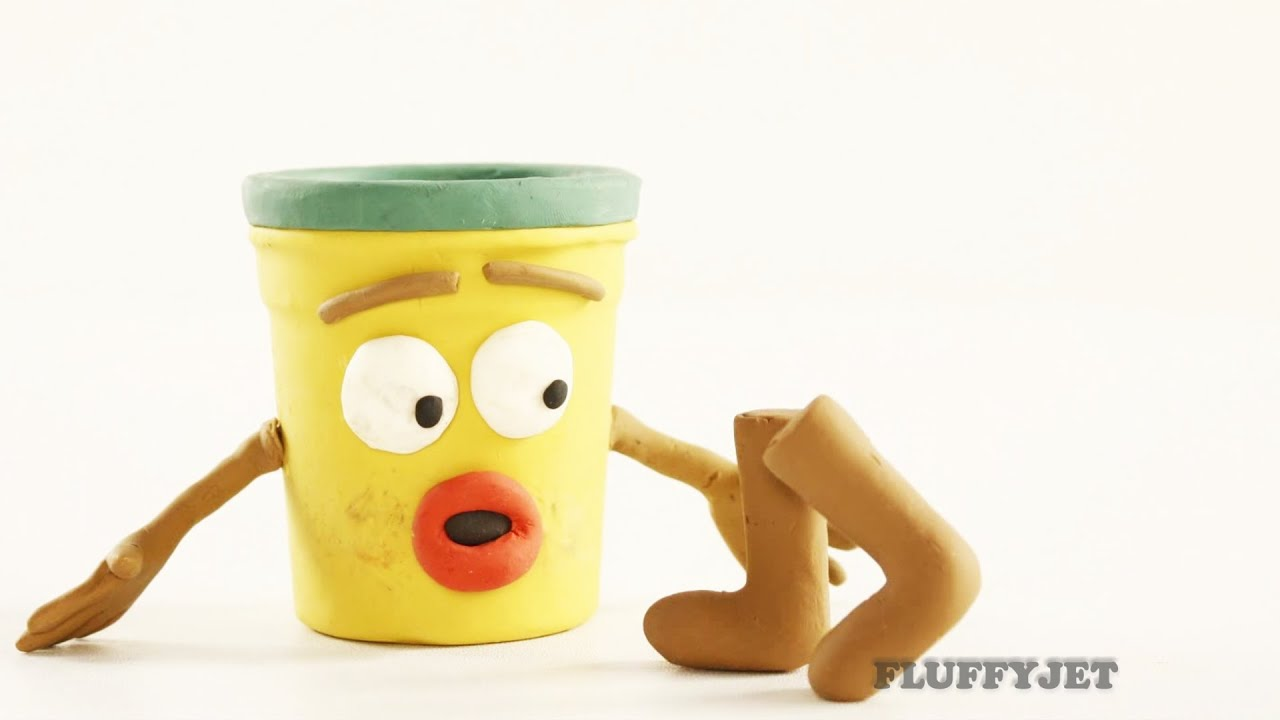Play Doh Man - Funny Animation - YouTube