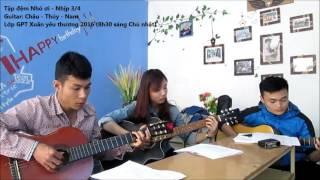 Tập đệm hát NHỎ ƠI (Học viên GPT school)