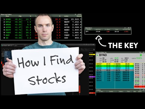 How I Find Stocks to Trade (Day Trader Strategy)