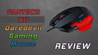 Fantech X11 Daredevil RGB Gaming Mouse Review