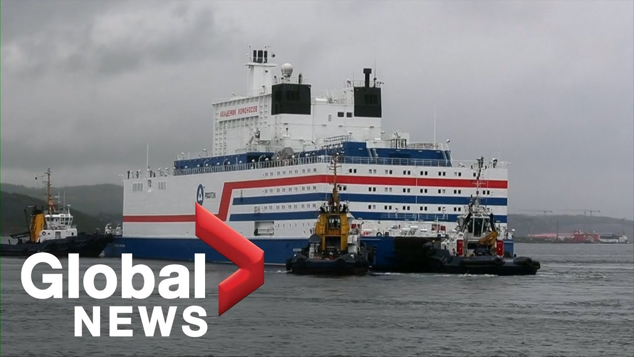 Russia's controversial floating nuclear plant sets sail for the Arctic