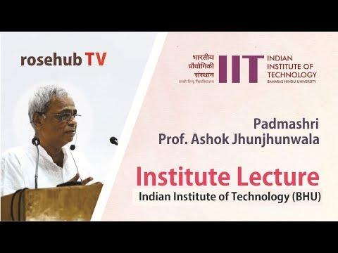 Green Homes for India   by Padma Shri Prof Ashok Jhunjhunwala   IIT BHU   English