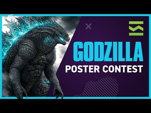 Godzilla Movie Poster Contest - Reviewed by Graphic Designer