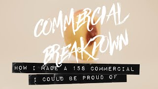 Commercial Product video BTS and breakdown