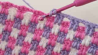 Easy Crochet Baby Blanket Patt…